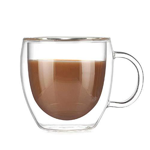 ZLF Glass Cup Coffee Cups Tea Set Mugs Beer Drink Office Mug Transparent Milk Drinkware