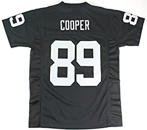 Amari Cooper Oakland Raiders NFL Youth Black Home Mid-Tier Jersey (Youth Small 8)