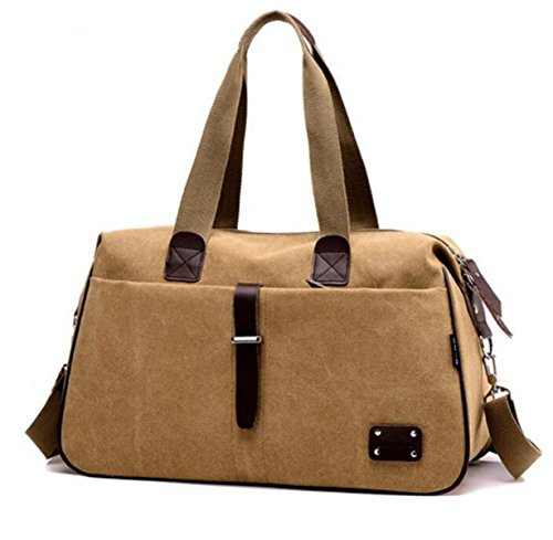 Travel Computer Fashion Khaki Messenger Compartment Men Bag Capacity Casual Multi Retro Canvas Handbag Chengxiaoxuan Shoulder Large Pq81S8