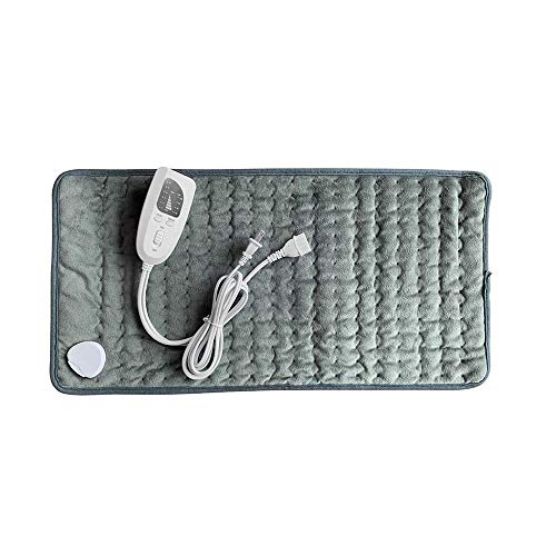 JIAYI Physiotherapy Heating Pad, Electric Heating Pad, Small Electric Blanket, for Neck Shoulder Back Knee Muscle Menstrual Pain Relief Machine Home Office Use,Gray (Left Shoulder And Neck Pain Causing Headaches)
