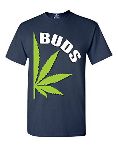 Shop4Ever Best Buds Weed Leaf T-shirt Weed Smokers Shirts