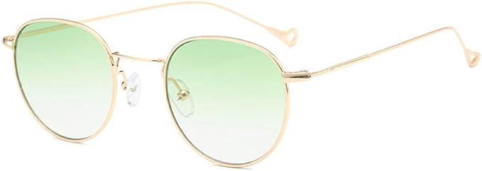 Kuletieas Gafas de sol con tinte azul para hombres verde ...