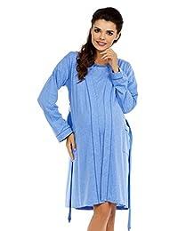 Zeta Ville Women's Nursing Nightdress Robe Labour Hospital Gown MIX & MATCH 552c