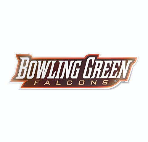 Nudge Printing NCAA University Script Logos Vinyl Car Decal Window Sticker (Bowling Green State University Falcons)