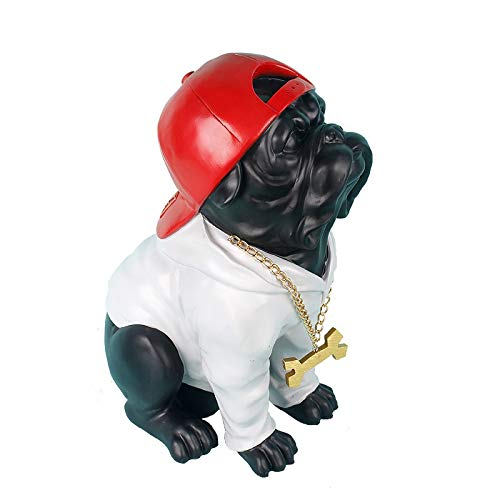 - Viet JK Others - Modern Creative French Bulldog Sculpture Animal Resin Statue Cute Dog Figurines Home Decoration Accessories Handmade Crafts - by GTIN - 1 PCs