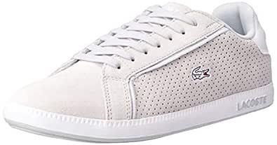 Lacoste Women's Graduate 119 4 Fashion Shoes, LT Gry/WHT, 5 US