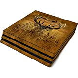 Hiding Buck Full Faceplates Skin Decal Wrap with 2 Piece Lightbar Decals for Playstation 4 Pro