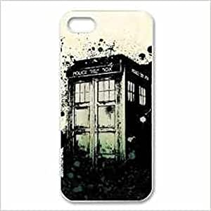 Pink Ladoo? Custom Doctor Who Tardis Design Skin Personalized Custom Hard CASE for iPhone 4 4s Durable Case Cover