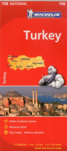 Michelin Turkey Map 758 (Maps/Country (Michelin))