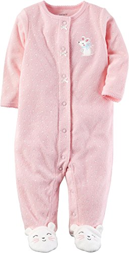 Carter's Baby Girls' One Piece Mouse Sleep & Play 9 Months