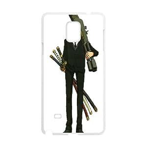 Samsung Galaxy Note 4 Cell Phone Case White Zoro ijtt