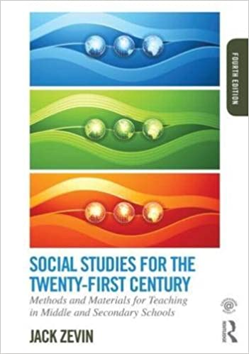 Book Social Studies for the Twenty-First Century: Methods and Materials for Teaching in Middle and Secondary Schools by Zevin Jack (2015-01-31)