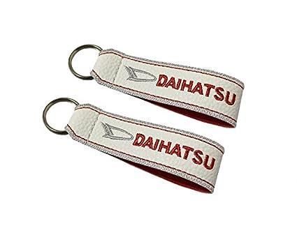 Moto Discovery Daihatsu cordón Llavero Doble Cara Blanco (1 ...