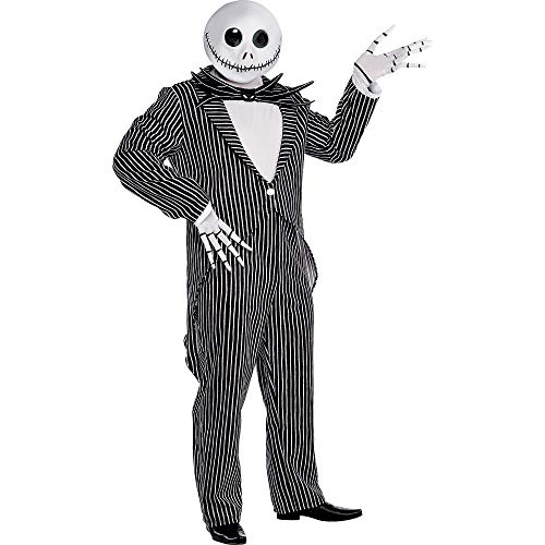 Scary Merry Kids Costumes - Jack Skellington Pinstripe Halloween Costume for