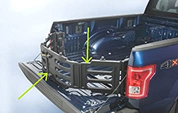 Ford Oem Factory Stock Genuine 2015 2016 F 150 Black Bed Tailgate Stowable Folding Collapsable Extender