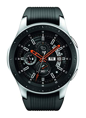 Samsung Galaxy Watch (46mm) Silver (Bluetooth) SM-R800NZSAXAR US Version with Warranty (Renewed) (Samsung Watch)