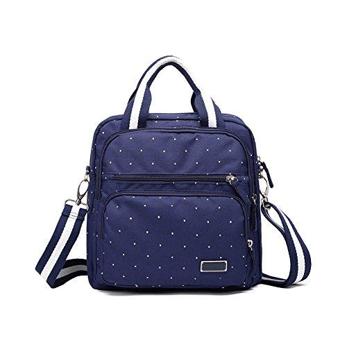 HaloVa Diaper Bag, Multi-Function Mummy Travel Backpack, Fas