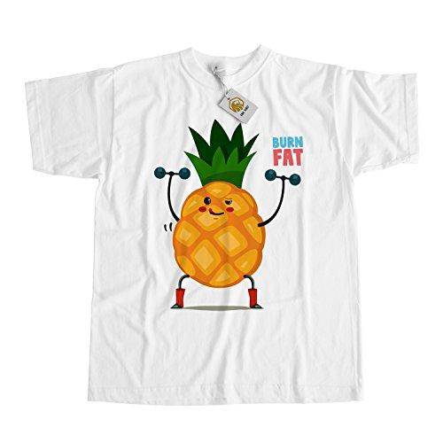 Vegan Workout Shirt - Pineapple Burn Fat