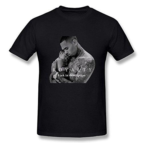 Matta Chris Brown Royalty Men's T-Shirt Black M (Chris Brown Party Hard Cadillac Interlude Feat Sevyn)