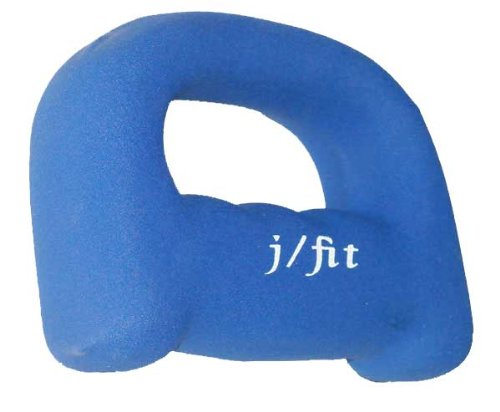 JFIT j/fit 2lb Neoprene Grip Dumbbell Weight