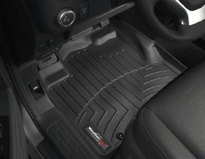 2006-2013 Honda Ridgeline Black WeatherTech Floor Liner (Full Set)