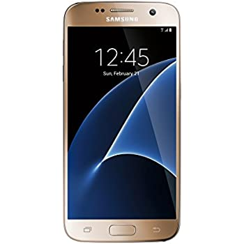 Samsung Galaxy S7 Factory Unlocked Phone 32 GB - Internationally sourced (Asia) version  G930FD- Platinum Gold