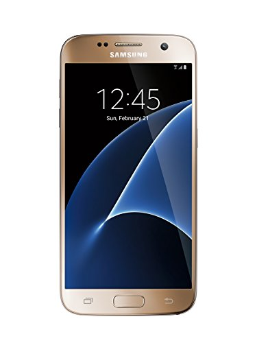 Samsung Galaxy S7 32GB Factory Unlocked GSM LTE Smartphone (Gold)