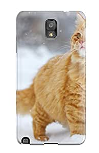 Forever Collectibles Cool Garfienldlike Cat Hard Snap-on Galaxy Note 3 Case