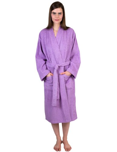 TowelSelections Women's Robe Turkish Cotton Terry Kimono Bathrobe X-Large/XX-Large - Womens Bathrobe Microfleece