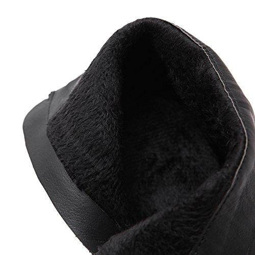 Coreano Tutti Corrispondono black Donna Martin Stivali Tacco Stivali 9A11C Maggiore Col Alto Scarpe KHSKX Le Scarpe Una Marea wzvx18gq
