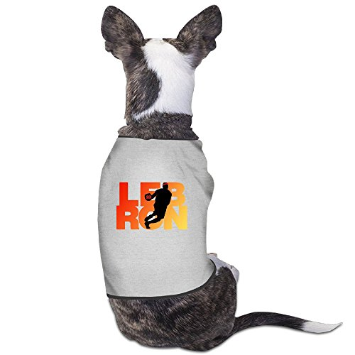 (Puppies Clothes - Lebron Cleveland Fan Wear Dog Shirts)