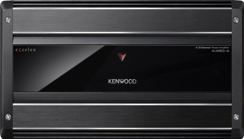 Kenwood X450-4 - 450W 4-Channel Amplifier ()