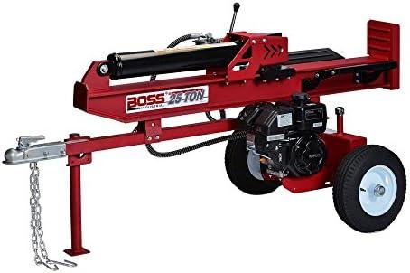 86232524e33d Amazon.com : Boss Industrial WD25T Gas Boss 25 Ton Electric Log Splitter,  Dark Red : Garden & Outdoor