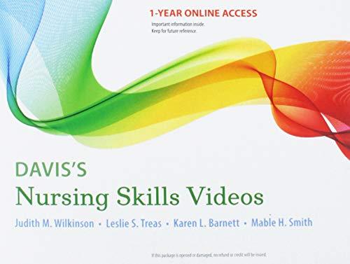 Davis's Nursing Skills Videos: 12-month access