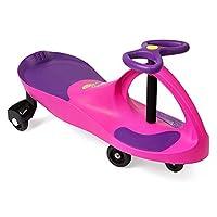 The Original PlasmaCar de PlaSmart - Pink /Purple - Ride On Toy, 3 años en adelante, sin baterías, engranajes ni pedales, Twist, Turn, Wiggle para una diversión sin fin
