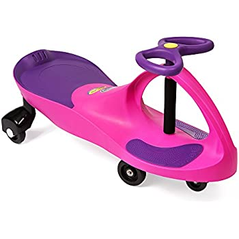 the original plasmacar by plasmart pinkpurple ride on toy ages 3 yrs and up no batteries gears or pedals twist turn wiggle for endless fun