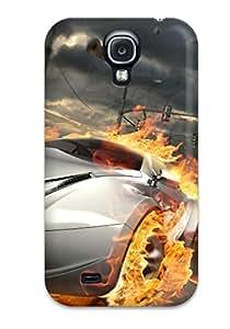 Tpu Jeremy Myron Cervantes Shockproof Scratcheproof Destructive Car Race Hard Case Cover For Galaxy S4