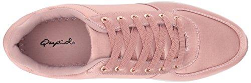 Qupid Kvinners Tweed-01 Sneaker Blålilla