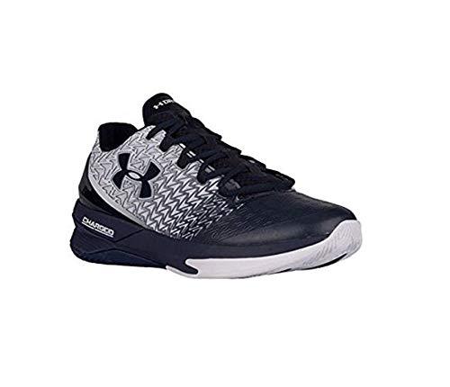 Under Armour ClutchFit Drive 3 Low Men's Basketball Shoes (White, Navy - Size 10)