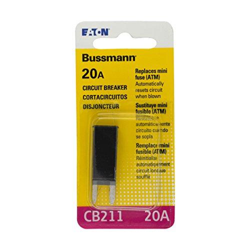Bussmann (BP/CB211-20-RP) 20 Amp Type-I ATM Mini Circuit ()