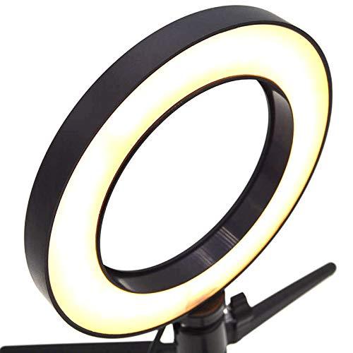 Dimmable Led Studio Camera Ring Light Photo Phone Video Light Annular Lamp Selfie Stick Ring Fill Light for Canon