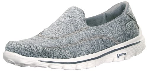 (Skechers Performance Women's Go Walk 2 Slip-On Walking Shoe, Grey, 6 M US)