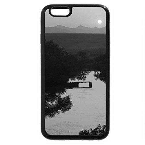 iPhone 6S Plus Case, iPhone 6 Plus Case (Black & White) - Okalahoma Sunrise