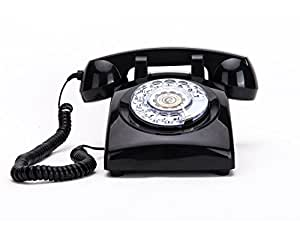 rotary dial telephones sangyn 1960 39 s classic old style retro landline desk. Black Bedroom Furniture Sets. Home Design Ideas