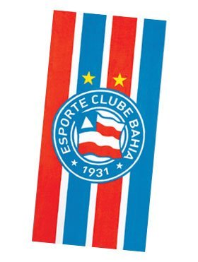 fan products of Authentic Bahia Soccer Team Beach Towel - Type II | Toalha de Praia Oficial do Bahia Modelo 02