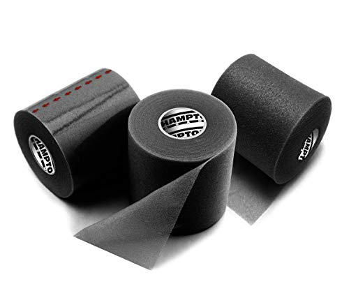 (3 Pack) Sports Pre-Wrap Athletic Tape - Professional Medical Grade Foam - Perfect for Taping Wrist & Ankles - Provides Amazing Knee Support (Soccer Pre Wrap)