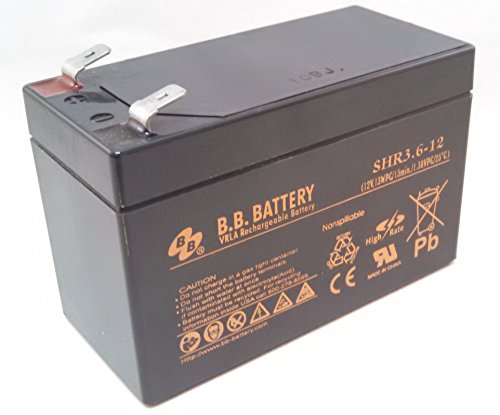 SHR3.6-12 - Genuine BB Battery Brand (replaces CPS3.6-12)