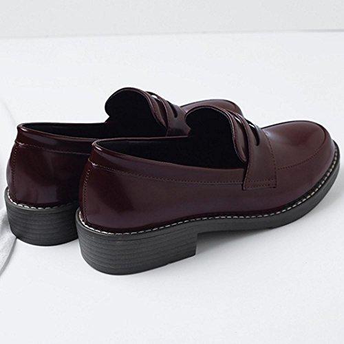 Classic Women Brogue 3 Shoes claret Zanpa TqYUnf5x5