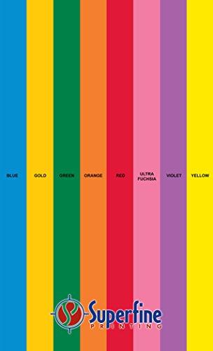 Bright Color Paper 8 Assortment Colors of 25 Each, 24 Lb, , 200 Sheets (8.5 x14)