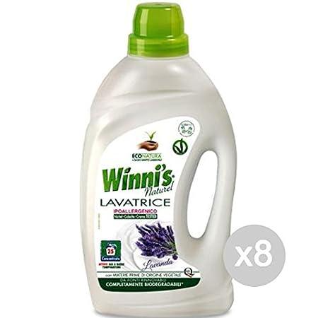Winnis - Juego de 8 litros para Lavadora, 25 Meses, 1,5 L ...